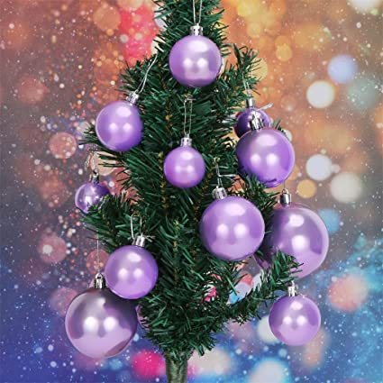 Amazon Com Aobiny Christmas Decor Balls 37 Pcs Colors Shatterproof