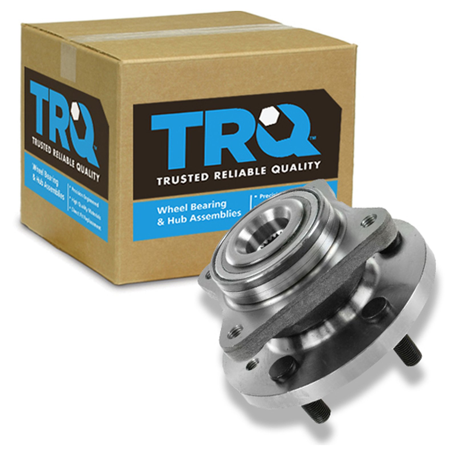 TRQ Front Wheel Hub & Bearing Assembly for Land Rover LR3 LR4 Range Rover Sport