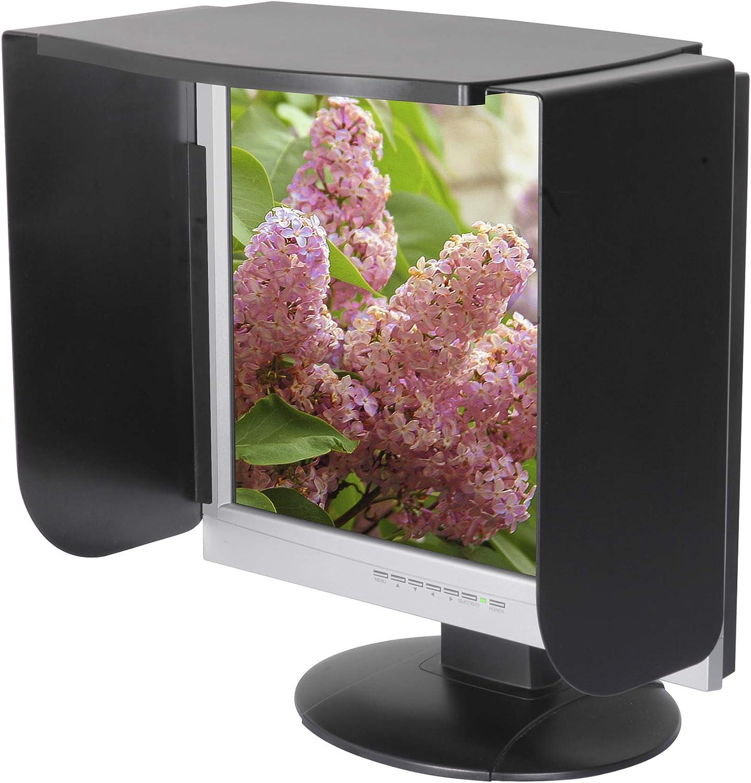 MV19//21B Black Kantek Monitor Privacy Visor for 18 to 21-Inch LCD and CRT Monitors