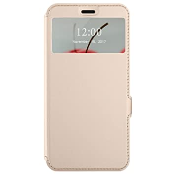 finest selection 76e0d ae968 Ulefone S8 Pro Case, KuGi Ulefone S8 Pro Flip Case with S-View PU Leather  Flip Case Protective Cover Multicolor with Stand Design for Ulefone S8 Pro  ...