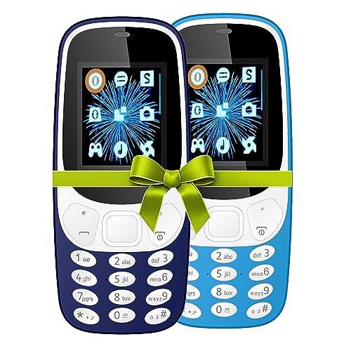 I KALL 4.57 cm (1.8 Inch) Mobile Phone Combo - K3310 (Dark and Sky Blue)