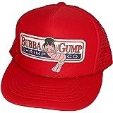 Bubba Gump Shrimp Co. Snapback Trucker Hat Adult Cap Halloween Costume Red
