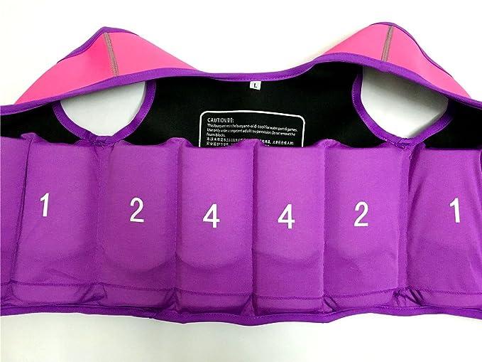 Titop Swim Chaleco para niños Infant Swim Trainer Chaleco para bebés Niños Chaleco Flotador Imprimir Rosa Pequeño para niños 0-3 años: Amazon.es: Ropa y ...