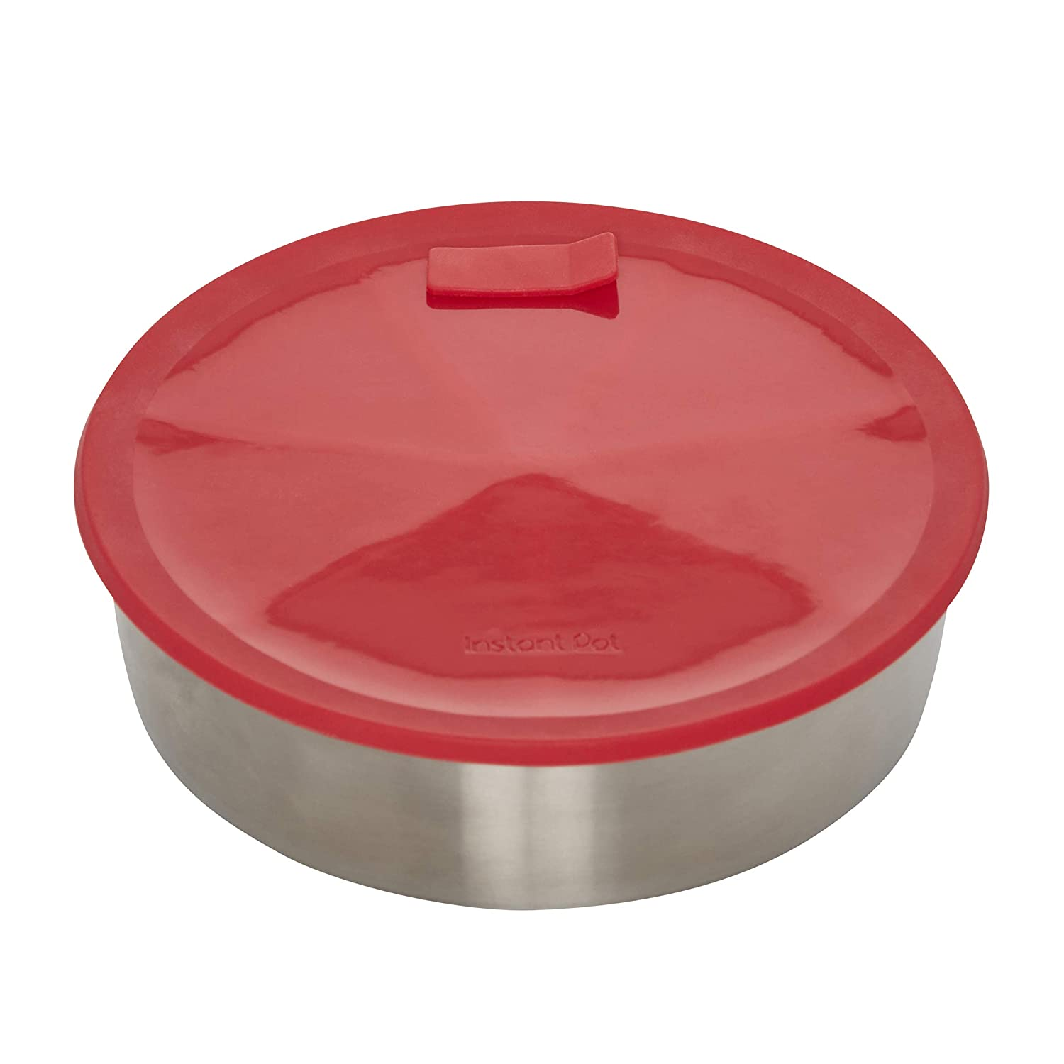 Red 7-inch Instant Pot 5252078 Offical Round Cake Pan