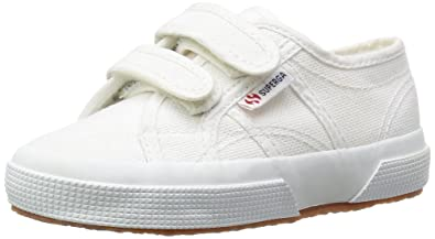 Superga 2750 Jvel Classic, Sneakers Basses mixte enfant, Gris (M38 Grey Sage)