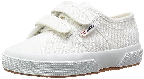 Superga 2750 Jvel Classic Sneaker Unisex Bambini Bianco White 28 S0I