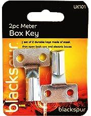 Blackspur BB-UK101 Meter Box Key Set