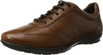 Geox Uomo Symbol B, Zapatos de Cordones Hombre