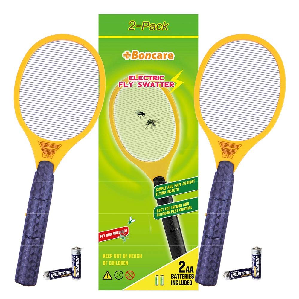 Boncare Electric Bug Zapper Handheld, Fly Swatter Zap Mosquito