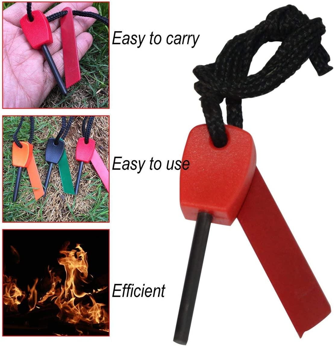 ArgoBar Camping Survival Outdoor Equipment Economic Version Of Mini Flint Waterproofing Fire Magnesium Strip