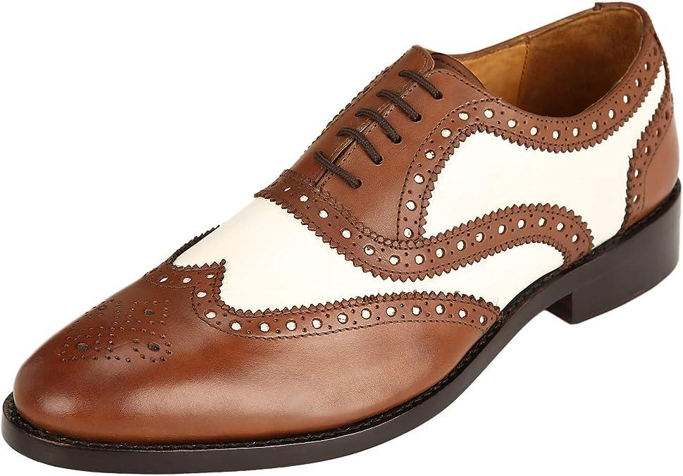 DLT Men's Genuine Oxford Dress Shoes