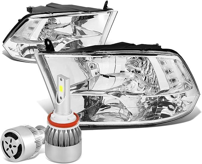 2800W LED Headlight Fog Light Bulbs for 09-18 Dodge Ram 1500 2500 3500 4500
