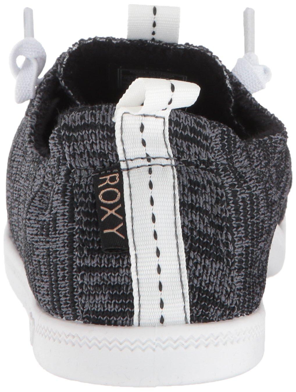 Roxy Women's Bayshore Sport Slip on Shoe Fashion Sneaker, Black, 8.5 M US by Roxy (Image #2)