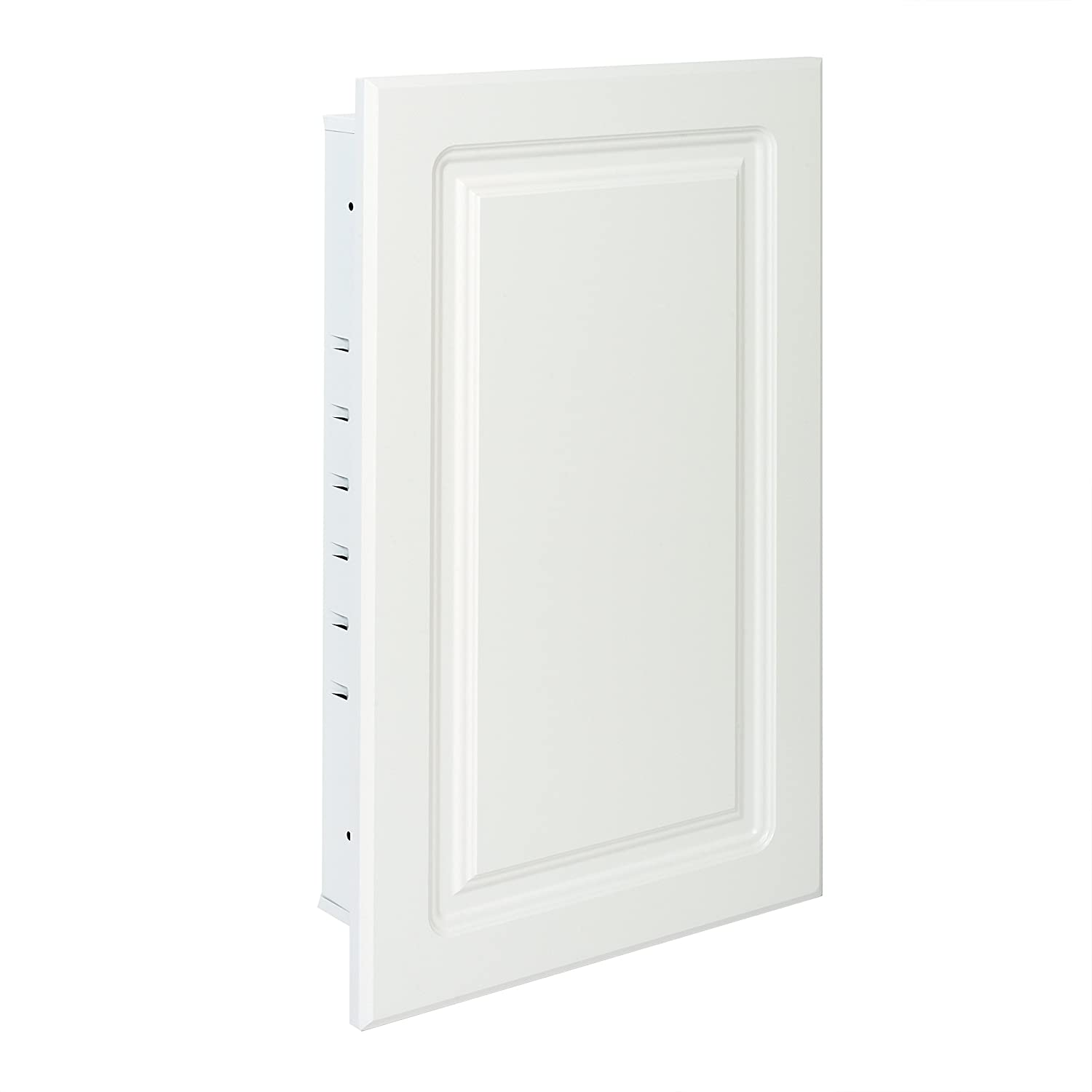 American Pride ST9912RPR1 Recessed White Raised Panel Door, Steel Tech Body Medicine Cabinet 16 x 26