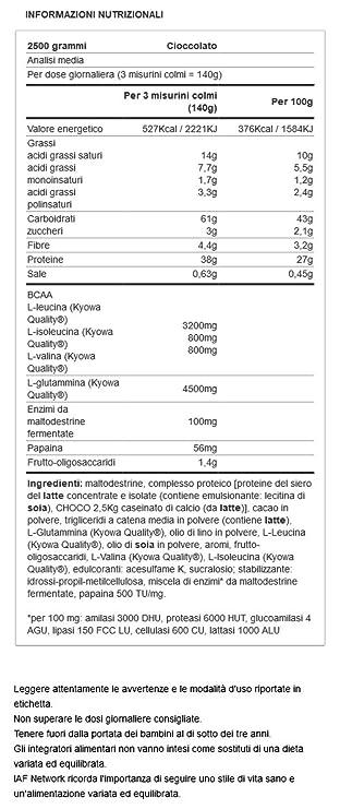 Yamamoto Nutrition Emperor Mass New Formula - 2500 gr ...