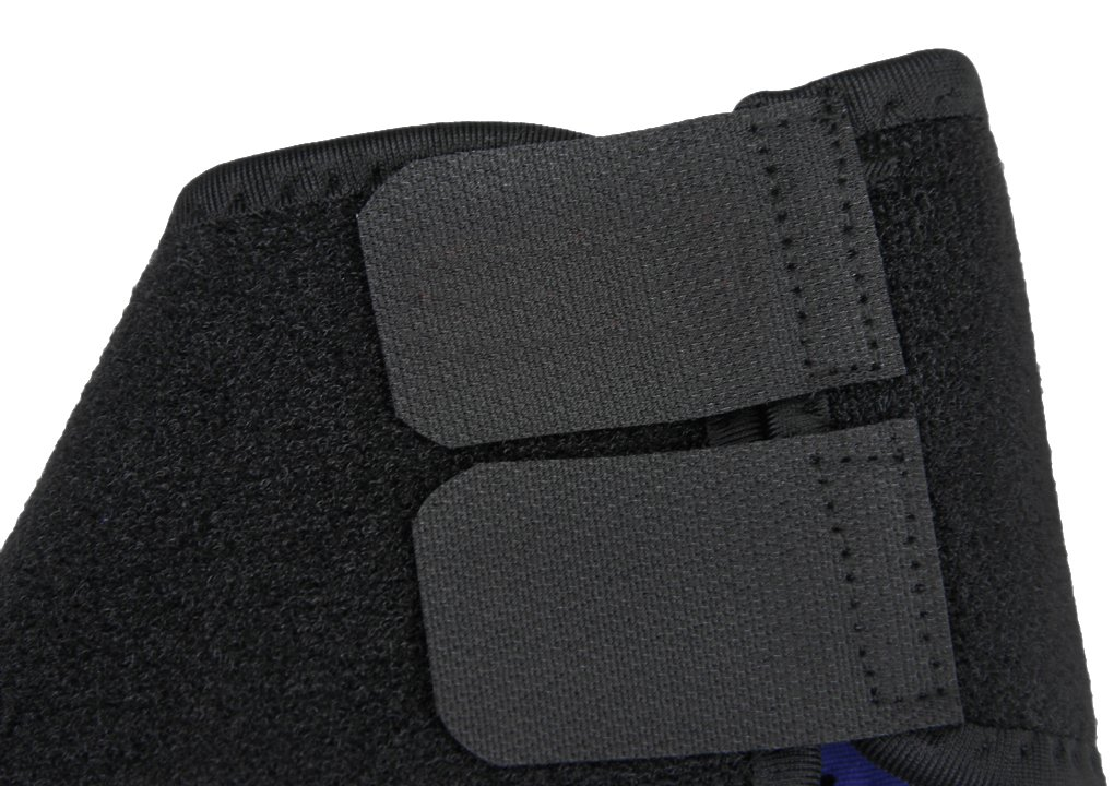 Kids Girls Boys Adjustable Compression Ankle Support Outdoor Sports Breathable Running Cycling Skating Dance Ankle Brace Protector Guard, 1 Pair, Black by Fakeface (Image #5)