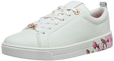 bde14e6e1766b2 Amazon.com  Ted Baker Women s Luocil Trainers White  Shoes