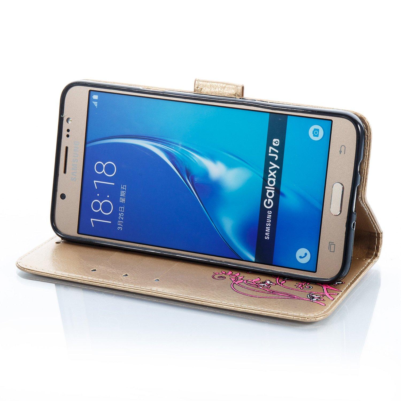 Para Samsung Galaxy J7 (2016 modelo) funda j710 Cover, funyye ...