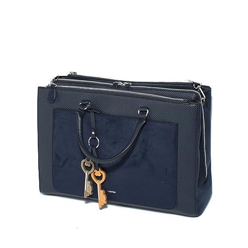 Parfois - Bolsos Cartera Para Papeles Verdadero Azul Marino - Mujeres - Tallas L - Azul Marino: Amazon.es: Zapatos y complementos