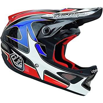 Troy Lee Designs D3 Gwin - Casco de ciclismo BMX integral, color rojo, talla