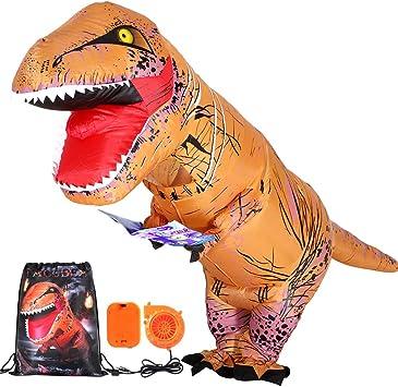 Tacobear Inflables Dinosaurio T-Rex Disfraz Hinchable Dinosaurio ...