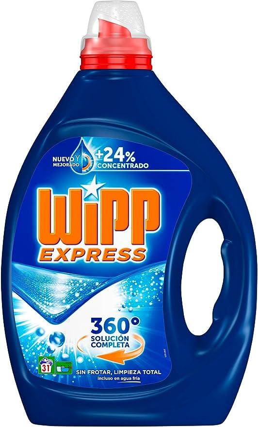Wipp Express Detergente Gel Azul - 32 lavados: Amazon.es ...
