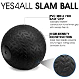 Yes4All 30 lbs Slam Ball, Medicine Ball for