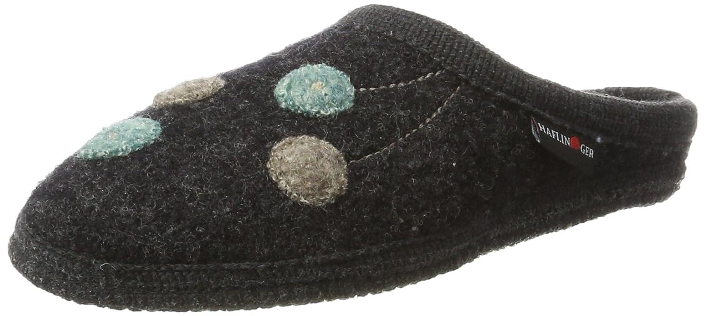 Haflinger Walktoffel Solvejk, Zapatillas de Estar por Casa para Mujer, Gris (Graphit 77), 37 EU