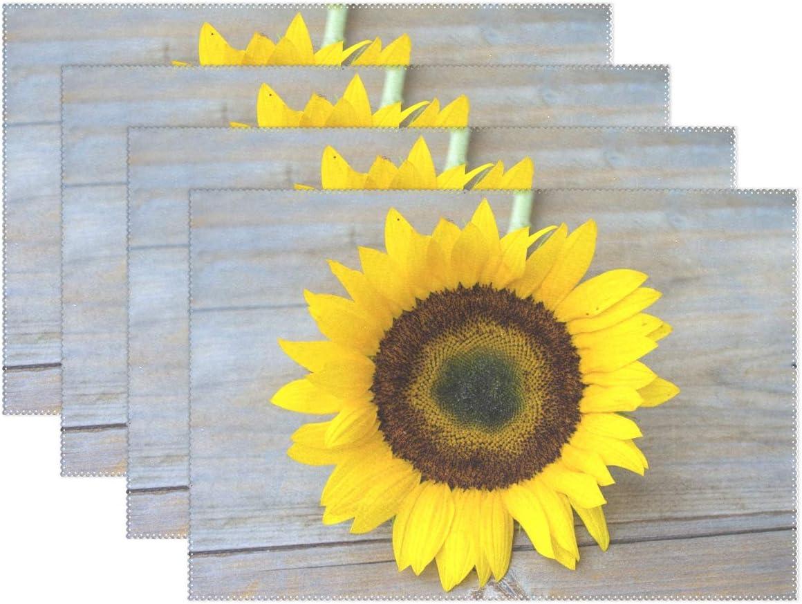 Beautiful Bright Yellow Placemats