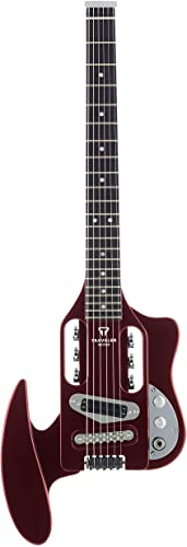 Traveler Guitar Speedster Electric Travel Guitar, Red