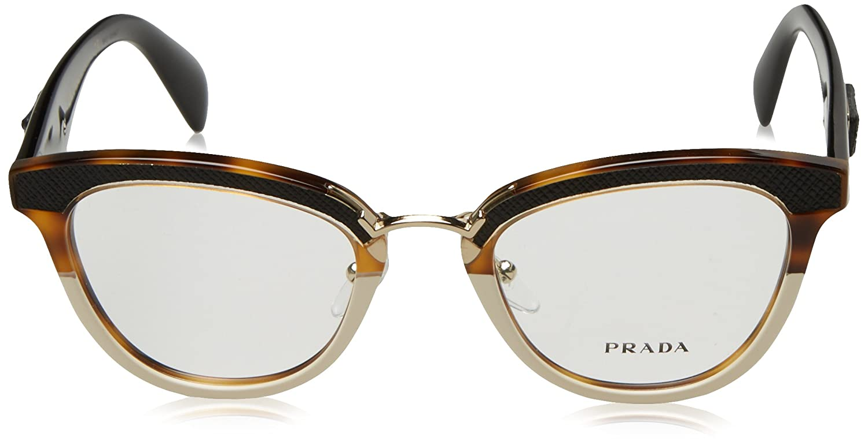 8713e32621 Prada 0PR 26SV Havana Eyeglasses at Amazon Women s Clothing store