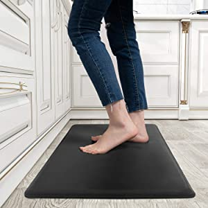 Kitchen Mats for Floor Anti Fatigue, Kitchen Rug 1/2 inch Thick, Non-slip Extra Support Standing Pad
