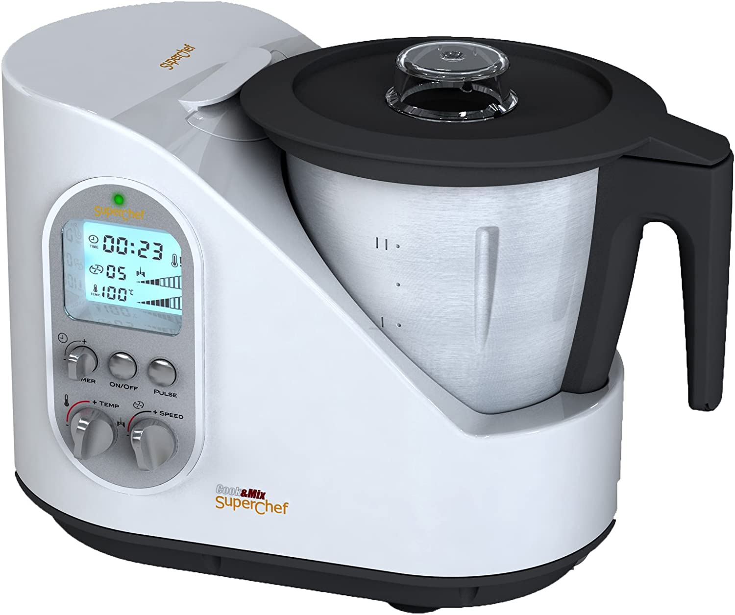 Superchef Cook and Mix - Robot de cocina: Amazon.es: Hogar