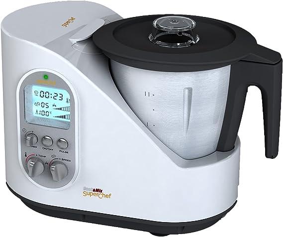 Superchef Cook and Mix - Robot de cocina: Amazon.es: Hogar