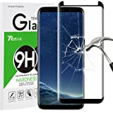 Galaxy S8 Panzerglas Schutzfolie, Rusee 9H Härtegrad 3D HD Ultra Klar Anti-Kratzer Panzerglasfolie Hartglas Gehärtetem Glas Displayschutzfolie Displayschutz für Samsung Galaxy S8