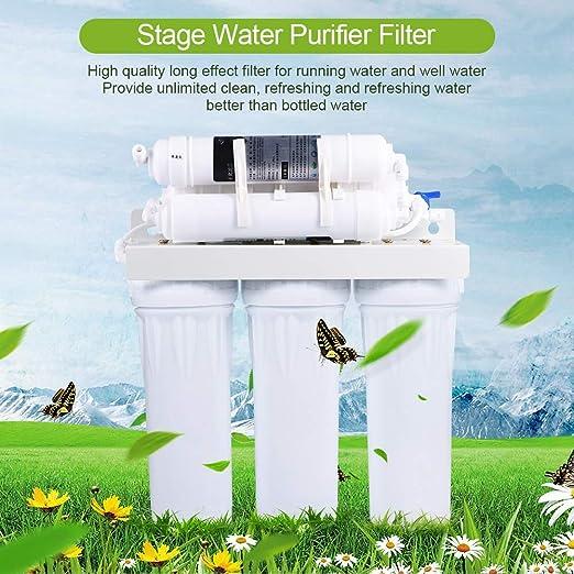Purificador de Agua Potable Domestico de 6 Etapas Sistema de ...