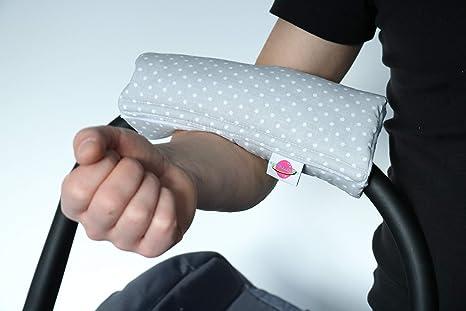 Babymajawelt® - Cojín acolchado para el brazo del cochecito ...