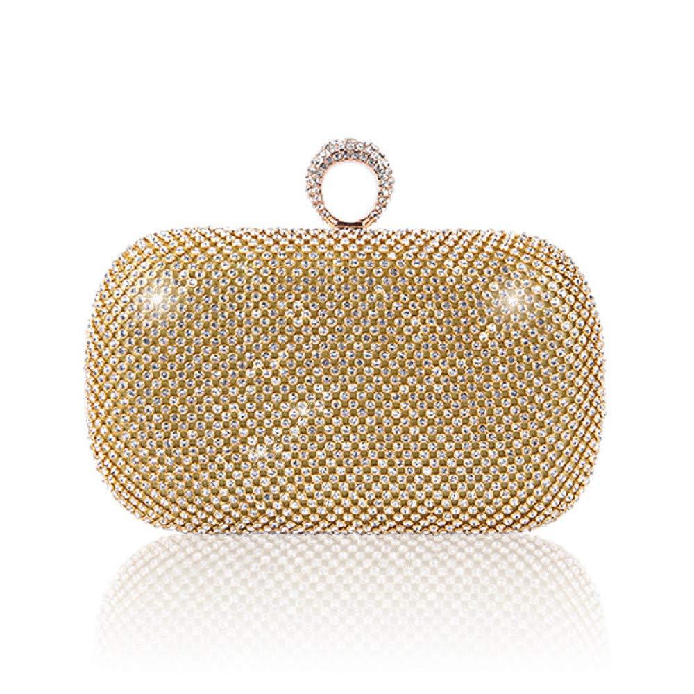 JSXL handtasche handtasche handtasche Damenhandtaschen Umhängetaschen Clutches Totesbags Umhängetaschen Wristlets Top-Griff Abendtasche Ringring Nieten-Clutch-Tasche Umhängetasche Modetasche B07KDTR9R3 Clutches Empfohlen heute 9fcf72