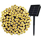 Innoo Tech 8 Mode Decoration 200 Solar String LED Lights, 72-Feet, Warm White