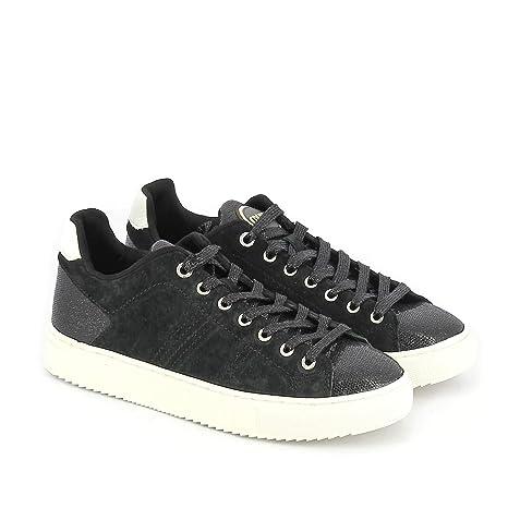 Colmar Bradbury Lux Nero Scarpe Donna Sneakers Lacci camoscio Glitter 36 788fbff9ca0