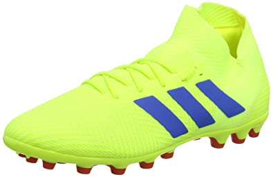 b4930b205 adidas Herren Nemeziz 18.3 Ag Fußballschuhe, Gelb (Solar Yellow/Football  Blue/Active
