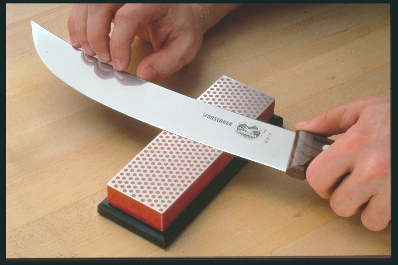 dmt w6f 6 inch diamond whetstone sharpener fine with hardwood box
