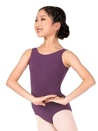 0144055d1 Amazon.com  Girls Tank Cotton Dance Leotard TH5512C  Clothing