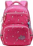 Kid Child Girl Multipurpose Dot Backpack School Bag (22 L, Style B Rose)