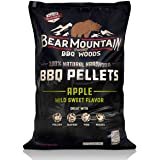 Bear Mountain BBQ 100% All-Natural Hardwood Pellets - Apple Wood (20 lb. Bag) Perfect for Pellet Smokers, or Any Outdoor Gril