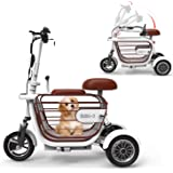 TopMate ES31 Scooter eléctrico Mini Triciclo plegable Peso ...