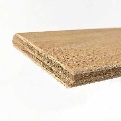 Cortassa - 3 listones curvados en madera de haya, repuesto para láminas. Medidas: 5,2 x 79 x 0,8 cm