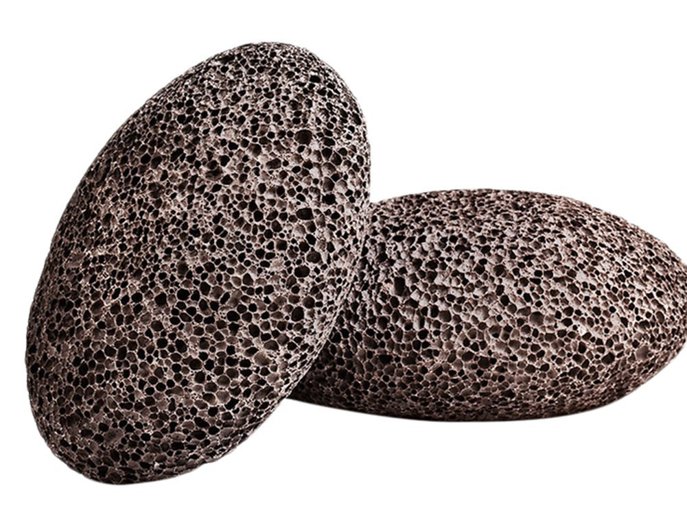 DYLANDY Volcanic Pumice Stone for Feet - Set of 2