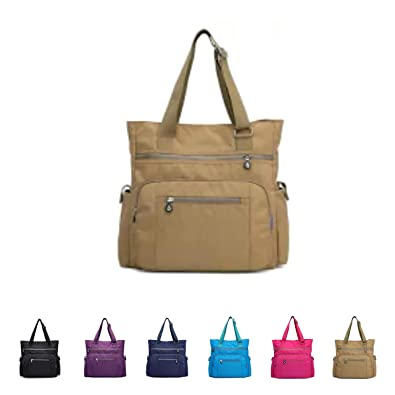 e9eb6fded81 Queenie - Waterproof Nylon Women's Shoulder Bag Cross Body Ladies Messenger  Bag Casual Handbag Travel Tote