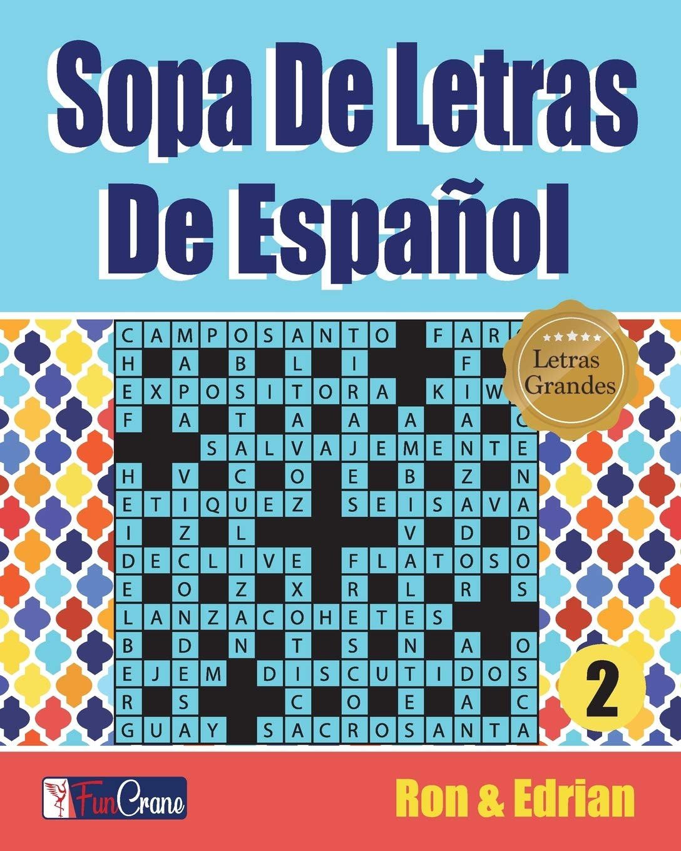 Sopa De Letras De Español: 2 (volumen): Amazon.es: K, Ron, D ...
